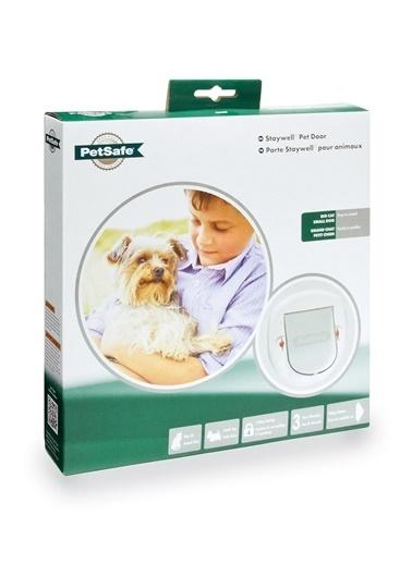 PETSAFE Petsafe Staywell 280 Ef Büyük Kedi/Küçük Köpek Manuel 4 Yönlü Kilitli Kapı Beyaz Beyaz